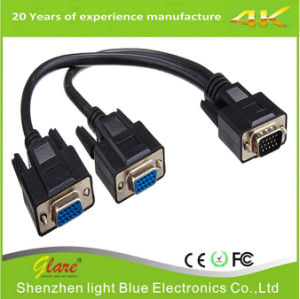 High Resolution VGA Y Splitter Cable pictures & photos