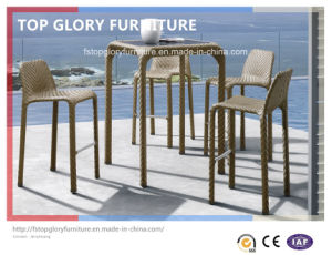 Outdoor Garden Rattan Bar Table and Bar Chars (TG-1709) pictures & photos