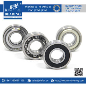6205 2RS Low Friction Sealed Deep Groove Ball Bearing pictures & photos