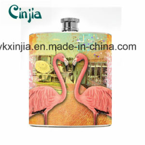 Kitchen Summer Flamingo Flask for Wine & Liquor-Xjt8 pictures & photos