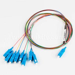 Singmold 1X8 Sc/Upc Steel Tube Optic Fiber PLC Splitter pictures & photos