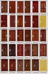 New Style Double Steel Door (double steel door) pictures & photos