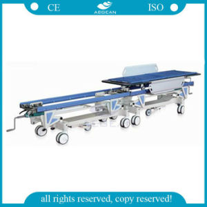 AG-HS004 with Two Parts for Patient Transfer Hospital Emergency Rescue Stretcher pictures & photos