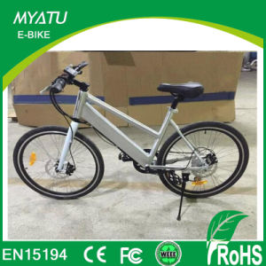 En15194 36V 250W 700c 36V 10.4ah Retro Vintage Electronic E Bike pictures & photos