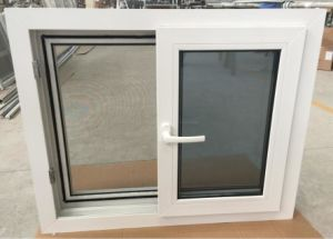 Customized UPVC/PVC Profile Plastic Window/Sliding Window