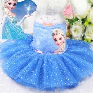 Frozen Dog Dress Lovely Cute Pet Tutu Skirt pictures & photos