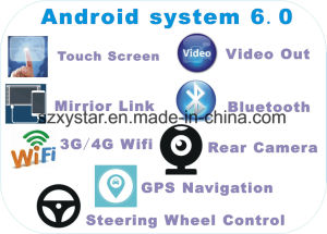 New Ui Android 6.0 Car DVD Player for Toyota Prado 2004 with Car Navigation pictures & photos