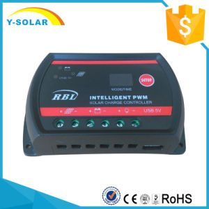 10A 20A 30A Solar Charge Controller 12V/24V for Solar System with Ce Btd-10A pictures & photos