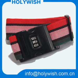 Travel Custom Durable Crisscross Luggage Belt with Password Lock