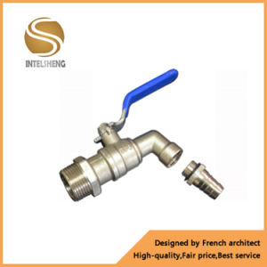 """Bibcock Ball Valve 1 1/2"""" Inch NPT with Handle pictures & photos"""