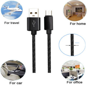 Six Colors Hemp Knitting Charger&Transfer Data Cable for Android Cable pictures & photos