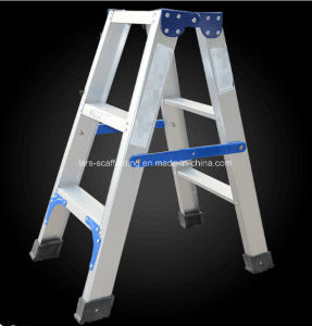 Step Ladder Folding Aluminum Atticladder pictures & photos