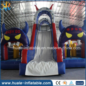 Giant Inflatable Kids Bouncer, Inflatable Bouncer with Slide