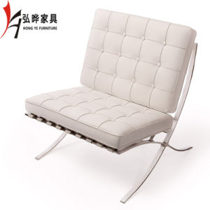 2017 Wholesale Living Room Lounge Leisure Chair Barcelona Chair (T03) pictures & photos
