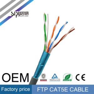 Sipu 4 Pairs 23/24AWG FTP Cat5e Cable Ethernet Network Cable pictures & photos