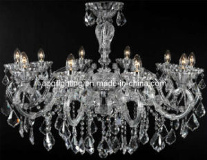 Newest Design Crystal Candle Chandelier (AQ09122/10) pictures & photos
