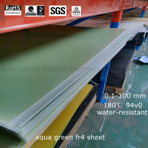 Fiberglass Cloth Material Fr-4/G10 Sheet with Favorable Inflaming Retardancy pictures & photos