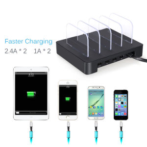 2017 Portable 4 Port Multi USB Tablet Cellphone Charging Station pictures & photos