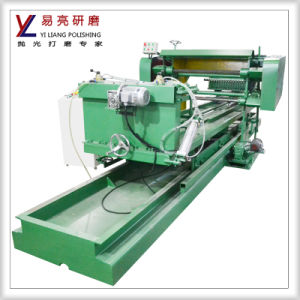 Round Pipe Polishing Machine with Cotton Wheels to Reach High Mirror Effect