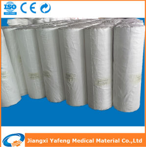 100% Cotton Bleached Absorbent Jumbo Gauze Roll pictures & photos