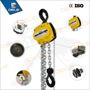 Ce Passed Construction Crane Manual Hoists pictures & photos