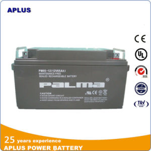 Rechargeable Lead Acid Maintenance Free Power Backup Batteries 12V 65ah pictures & photos