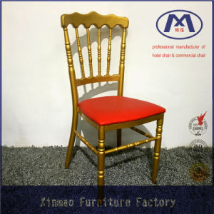 Made in China Modern Design Wedding Metal Napoleon Chair