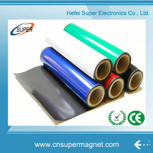 Flexible Magnetic Sheet Rubber Magnet with Self Adhesive pictures & photos