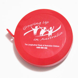 Clothing Brands Custom Red Mini Retractable Novelty Measuring Device pictures & photos