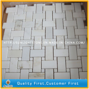 Natural Carrara White Marble Stone Mosaics for Home, Hotel Wall pictures & photos