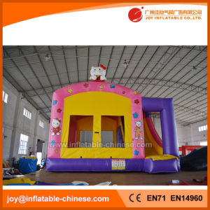 Kitty Inflatable Jumping Bouncer Slide Combo Bouncy Castle (T3-102) pictures & photos