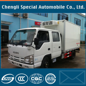 Isuzu 5tons 4X2 Qingling 600p 17cbm Freezer Truck with Refrigerator pictures & photos
