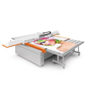 Printing Machinery UV Flatbed Printer for Printing 3D Wall Panel \ Glass/ Tiles/ Wood pictures & photos