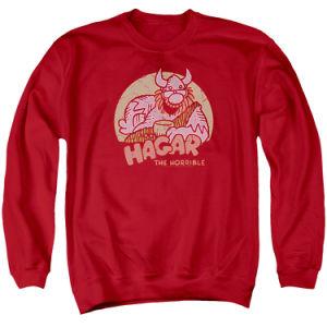 Red Men Fashion Long Sleeve Sweatshirt (A557)