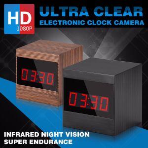 1080P Clock Camera Hidden HD Len Motion Detection A10