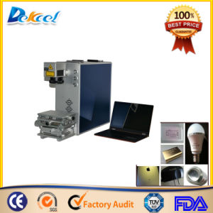 20W Best Price CNC Mopa Laser Marking Machine for Color pictures & photos