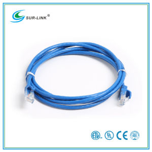 3m CAT6 UTP Cable Patch Cord Blue Color pictures & photos