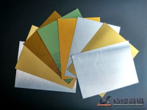 Brushed Gold & Silver Heat Transfer Aluminum Sheet pictures & photos