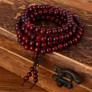 Fashion Religious Multi Layer Rosewood 8mm 108 Beads Bracelet Jewelry pictures & photos