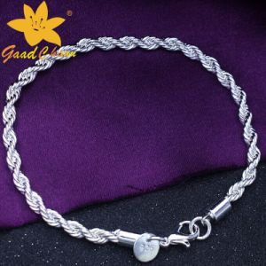 Stsb-16113001 European and American Fashion 925 Sterling Silver Bracelet pictures & photos