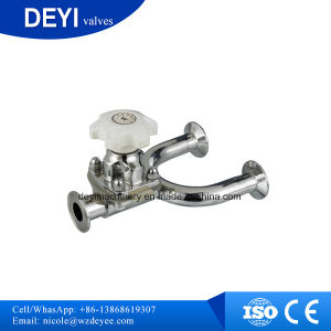 Stainless Steel Sanitary U Type Diaphragm Valve (DY-V136) pictures & photos