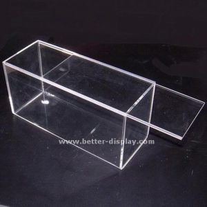 Clear Acrylic Candy Case with Lid Empty Candy Boxes (BTR-K4010) pictures & photos