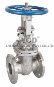 API 150# 300# Flange Gate Valve with 4 Hole Flange End pictures & photos