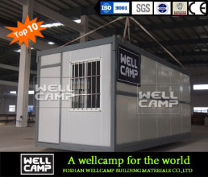 Wellcamp 4 Mins Can Build Foldable Container pictures & photos