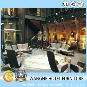 Modern Wooden Sofa Hotel Public Area Furniture pictures & photos