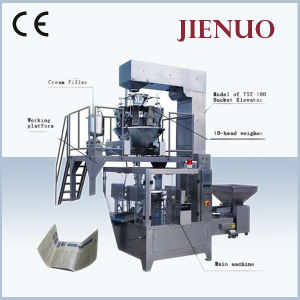 CE Approved Automatic Pouch Microwave Popcorn Packing Machine pictures & photos