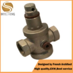 Brass Ball Valve Safety Valve with Polished Surface pictures & photos