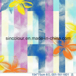 Knitted Printing 80%Polyamide 20%Elastane Fabric for Swimwear pictures & photos