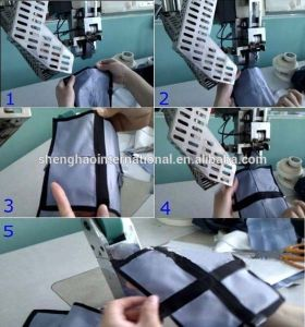 Chenghao Intelligent Hot Air Seam Sealing Machine for Making Waterproof Garments pictures & photos