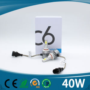40W Car LED Headlight 9005/9006 Guangzhou Factory pictures & photos